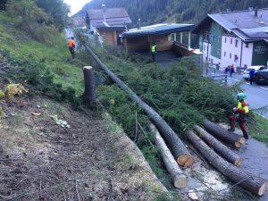 Kranfällung St. Anton am Arlberg