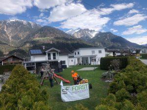 Wurzelstockfräsen, Wurzelstockfräsung, Bodenaustausch, Wurzelstockfräsen Vorarlberg, Wurzelstock entfernen, Wurzelstock entfernen Vorarlberg