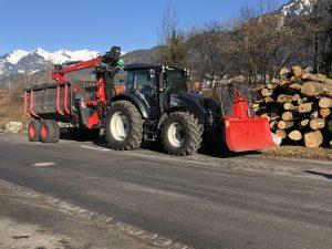 Wurzelstock Entfernen Arlbergsperre, Klostertal
