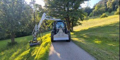 Mulcharbeiten und Mäharbeiten